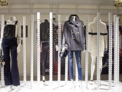 Daniel's Work in Knightsbridge Store